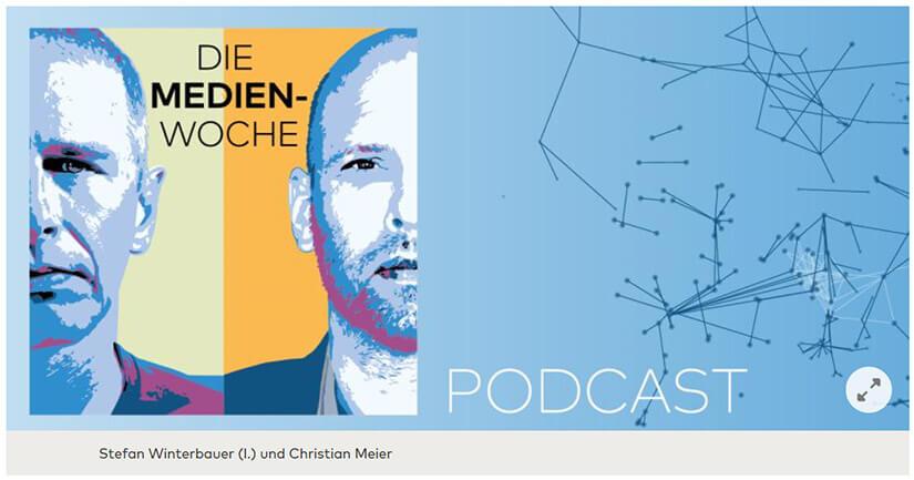 Titel-Design des neuen Podcast.