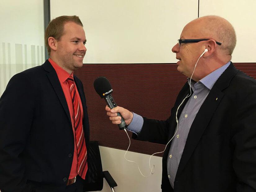 Kaspar Müller-Bringmann im Interview zum Thema Podcast mit René Hartmann.