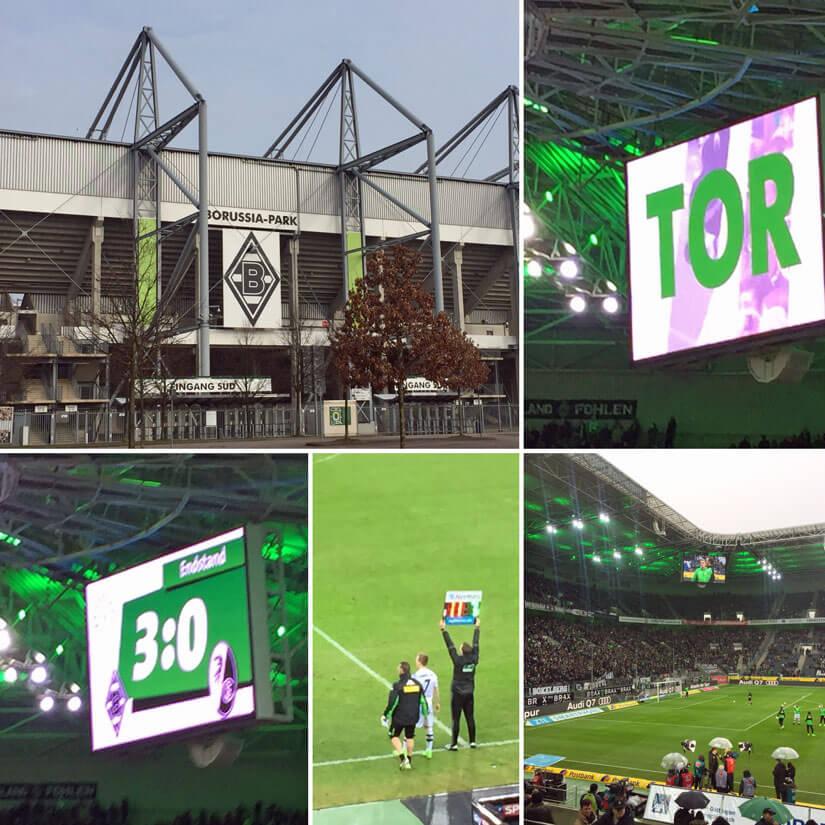 Symbolfotro Borussia Mönchengladbach und Fohlenpodcast