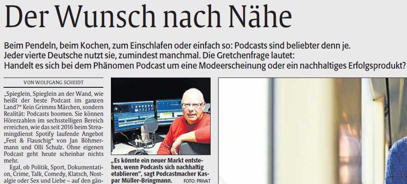 Podcast-Macher in der Rheinpfalz