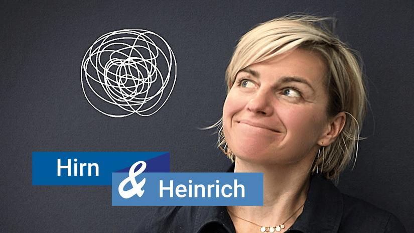 Sabine Heinrich moderiert Hirn & Heinrich