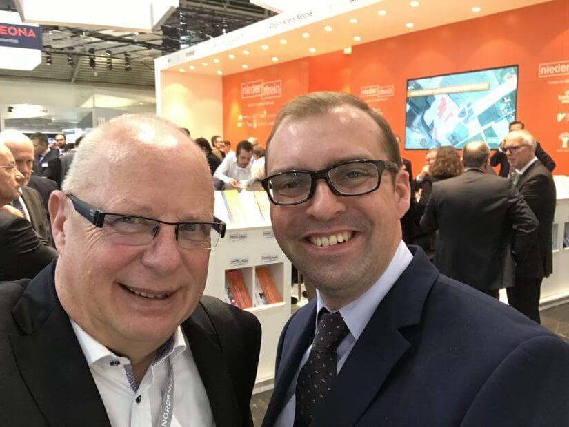 Arbeiten auch manchmal gemeinsam an einem Podcast: Kaspar Müller-Bringmann und Axel Tillmanns.