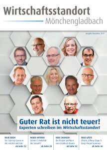 Titel Wirtschaftsstandort Mönchengladbach Dezember-Ausgabe